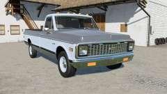 Chevrolet C10 Cheyenne Fleetside 1971 for Farming Simulator 2017