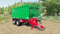 Kroger Agroliner TAW 20 tandem chassis for Farming Simulator 2017