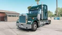 Freightliner Classic XL deep jungle green for American Truck Simulator