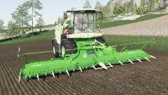 Krone BiG X 1180 adds capacity for Farming Simulator 2017