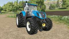 New Holland T7-series new tire configs for Farming Simulator 2017