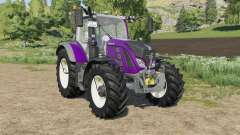 Fendt 700 Vario new light effects for Farming Simulator 2017