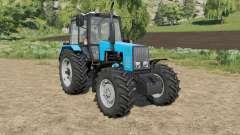 MTZ-1221 Belarus selection of wheels for Farming Simulator 2017