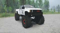 GMC Sierra lifted for MudRunner