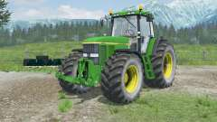 John Deere 7810 open doors and windows for Farming Simulator 2013