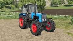 MTZ-1221 Belarus choice color body and wheels for Farming Simulator 2017