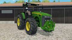 John Deere 8530 ploughing spec for Farming Simulator 2015