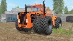 Big Bud 16V-747 orange for Farming Simulator 2017
