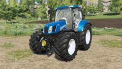 New Holland T6-series Michelin tyres for Farming Simulator 2017