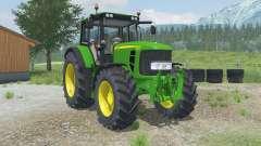 John Deere 6830 Premium adjustable tow hitch for Farming Simulator 2013