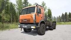 KamAZ-44108 bright orange for MudRunner