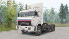 KamAZ-54115 Truck Drivers for Spin Tires