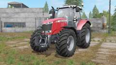 Massey Ferguson 7700 interactive control for Farming Simulator 2017