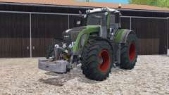 Fendt 933 Vario with weight for Farming Simulator 2015