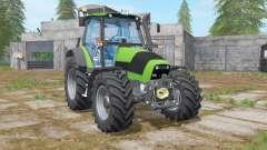 Deutz-Fahr Agrotron 165 lime green for Farming Simulator 2017