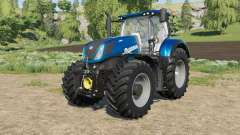 New Holland T7-series Heavy Duty Blue Power for Farming Simulator 2017