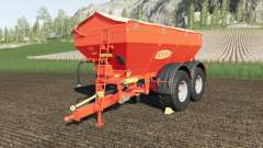Bredal K165 crazy spreader for Farming Simulator 2017