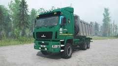 MAZ-6514H9 green color for MudRunner