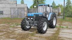 New Holland 8340 rich electric blue for Farming Simulator 2017