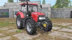 Case IH Maxxum 110 CVX improved mirrors for Farming Simulator 2017
