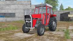 IMT 549 DeLuxe light brilliant red for Farming Simulator 2017