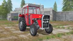 IMT 542 DeLuxe light brilliant red for Farming Simulator 2017
