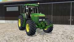 John Deere 6810 pantone green for Farming Simulator 2015