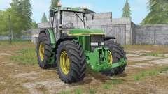 John Deere 7800 interactive control for Farming Simulator 2017