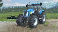New Holland T8020 realistic exhaust for Farming Simulator 2013