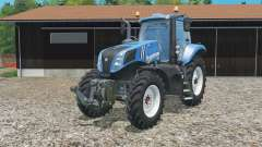 New Holland T8.320 single row wheels for Farming Simulator 2015