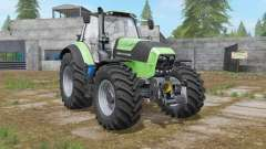 Deutz-Fahr Serie 7 TTV custom exhaust effect for Farming Simulator 2017