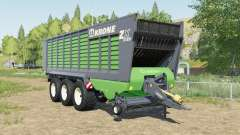 Krone ZX 560 GD increased capacity for Farming Simulator 2017