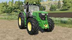 John Deere 6R-series pack for Farming Simulator 2017