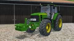 John Deere 6830 Premium weight for Farming Simulator 2015
