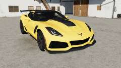 Chevrolet Corvette ZR1 (C7) 2019 for Farming Simulator 2017