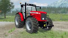 Massey Ferguson 6480 new wheels for Farming Simulator 2013