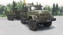 ZIL-131 1981 for Spin Tires