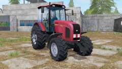 MTZ-2022.3 console front loader for Farming Simulator 2017