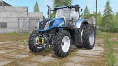 New Holland T7-series added narrow twin wheels for Farming Simulator 2017