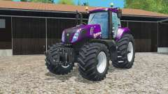New Holland T8.435 color configurations for Farming Simulator 2015
