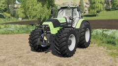Deutz-Fahr Serie 7 TTV Agrotron with new tire for Farming Simulator 2017