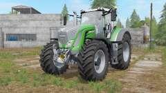 Fendt 900 Vario chrome front grill for Farming Simulator 2017