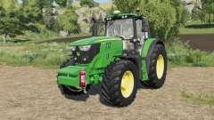 John Deere 6M-series fixed fronthydraulics for Farming Simulator 2017