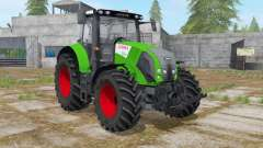 Claas Axion 820 islamic green for Farming Simulator 2017