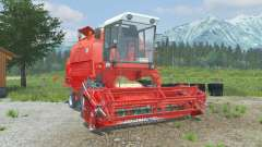 Bizon Rekord Z058 coral red for Farming Simulator 2013