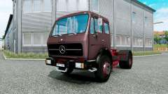Mercedes-Benz NG 1632 burnished brown for Euro Truck Simulator 2