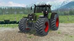Fendt 820 Vario TMS zwillingsreifen for Farming Simulator 2013