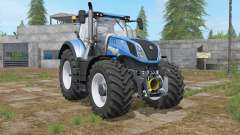 New Holland T7-series french blue for Farming Simulator 2017