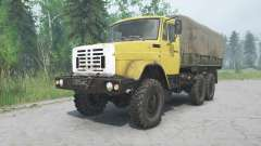 ZIL-4334 yellow color for MudRunner