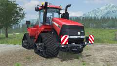 Case IH Steiger 600 Quadtrac light brilliant red for Farming Simulator 2013
